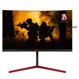 AOC AGON 爱攻III AG273QCG 27英寸 TN曲面电竞显示器(2560x1440、165Hz、1ms、1800R、G-Sync)