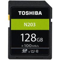 TOSHIBA 东芝 N203 SDXC UHS-I U1 C10 SD存储卡 128GB