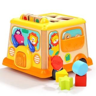 TOP BRIGHT 特宝儿 校车形状配对玩具