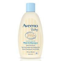 Aveeno Baby Wash & Shampoo 婴儿洗发沐浴二合一 236ml *6件 +凑单品