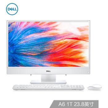 DELL 戴尔 Inspiron 24-3475 一体机电脑(AMD、4GB、1T、白色、1920 x 1080)