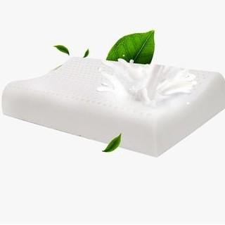 当当优品 进口天然乳胶枕芯 女士平滑曲线枕头 50*30*7/9cm