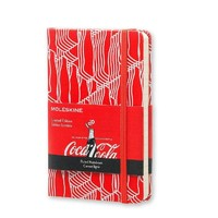 Moleskine 魔力斯奇那 限量版可口可乐硬面笔记本 横格 小号