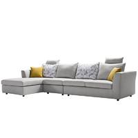 預售0點截止、預售 : KUKa 顧家家居 2053 現代簡約可拆洗布藝沙發