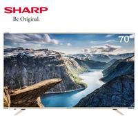 SHARP 夏普 LCD-70Z4AA  4K 电视 70英寸