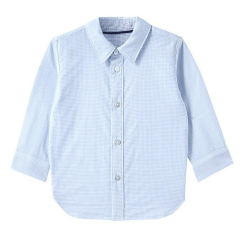PurCotton 全棉时代 幼儿纱布格衬衫