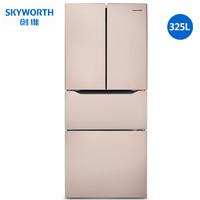 限地區 : Skyworth 創維 W30Ai 風冷 法式多門冰箱 325L