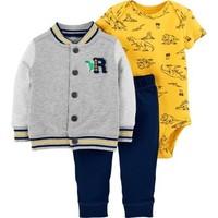 Carter's 121I623 男宝宝外套哈衣长裤套装 *4件