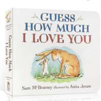 《Guess How Much I Love You 猜猜我有多爱你》英文原版