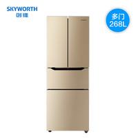 Skyworth  創維 BCD-268WY 268L  四門冰箱