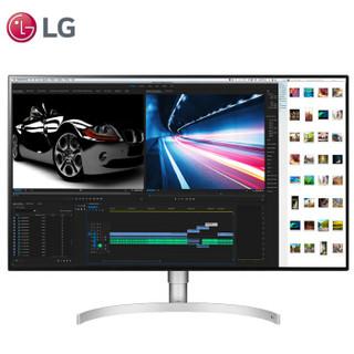 LG 32UL950 31.5英寸 IPS显示器(3840x2160、HDR600、DCI-P3 98%、菊花链)
