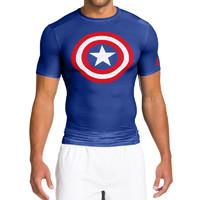 UNDER ARMOUR 安德玛 英雄系列 1244399 男子短袖T恤