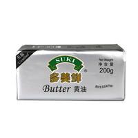 SUKI 多美鲜 淡味黄油块 200g+多美鲜 淡奶油 200ml