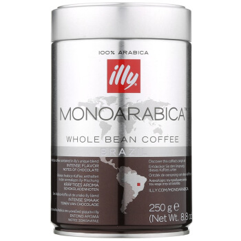 illy 意利 阿拉比加单品咖啡豆(巴西)250g