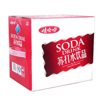 WAHAHA 娃哈哈 无汽苏打水 甜味 350ml*12瓶 箱装