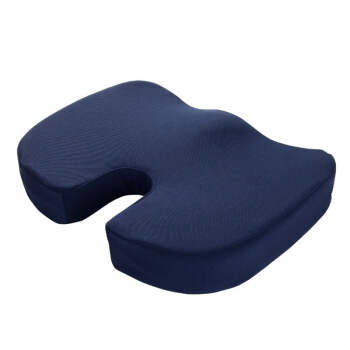 睡眠博士(AiSleep)记忆棉坐垫椅垫 学生办公休闲透气坐垫教室椅子凳子垫子宿舍椅垫 夏季防滑屁股垫