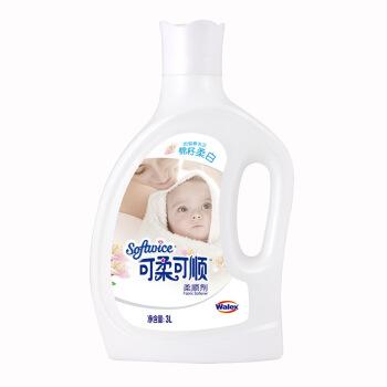 可柔可顺 柔顺剂 (棉籽柔白、3.3kg)