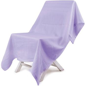 SANLI 三利 纯棉纱布盖毯 黛紫色 150x200cm