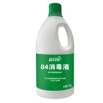 蓝月亮 消毒水 漂白 除菌84消毒液1.2kg/瓶