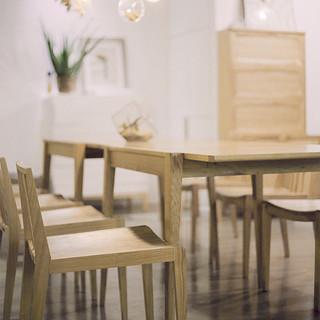 Ziinlife 吱音 Fyd001 实木椅凳 茶棕色