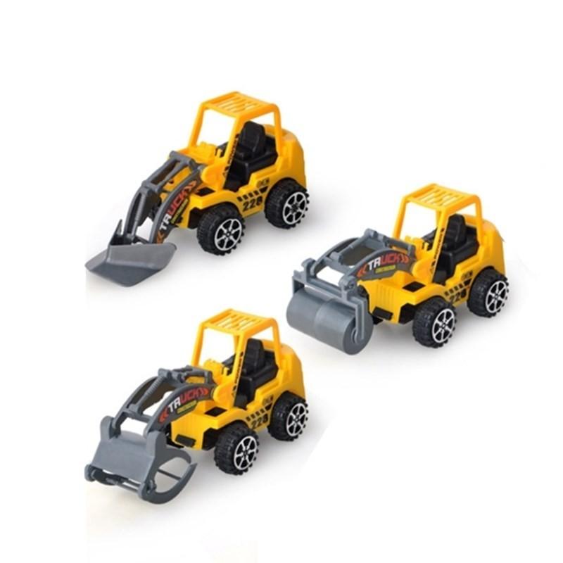 U.KARGER 优卡家 儿童玩具工程车 3只组合装