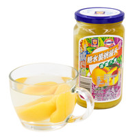 梅林 MALING 糖水黄桃  方便休闲办公零食 水果沙拉罐头 650g中华老字号