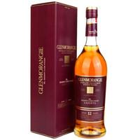 限地区、京东PLUS会员:GLENMORANGIE 格兰杰 雪莉酒桶窖藏陈酿 高地单一麦芽苏格兰威士忌 12年 700ml *2件