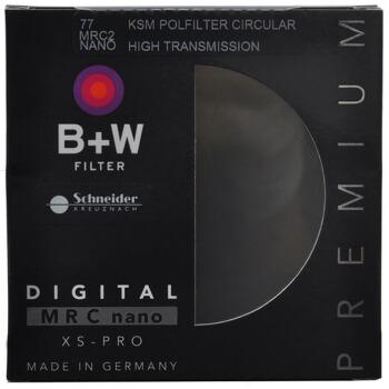 B+W 偏振镜 uv镜 滤镜 77mm UV镜 MRC NANO KSM XSP CPL 凯氏超薄多膜偏振镜