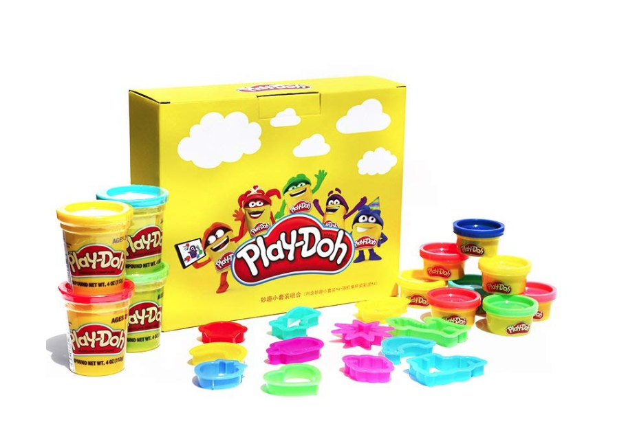 Play-Doh 培乐多 Amazon专属定制手工彩泥入门套装