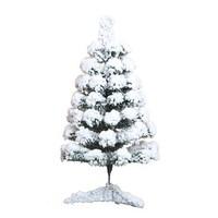 驭野 植绒圣诞树  落雪树 60cm