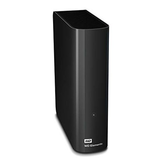 Western Digital 西部数据 Elements 桌面硬盘 10TB