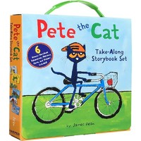 《Pete the Cat:Take-Along Storybook Set 皮特猫六本故事合集》进口原版
