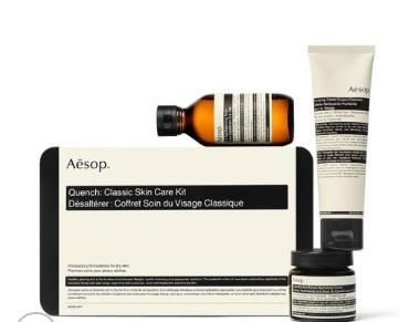 Aesop 伊索 经典护肤套装 洁面乳100ml+调理液100ml+滋润面霜60ml
