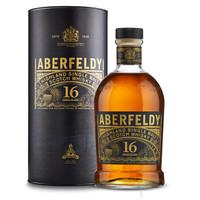 Aberfeldy 艾柏迪 16年单一麦芽威士忌 700ml +凑单品