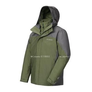 Columbia 哥伦比亚 PM1340 男款三合一冲锋衣