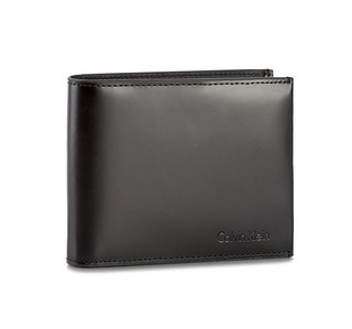 CALVIN KLEIN 卡尔文·克莱 Spazzolatto Leather 男士短款钱包