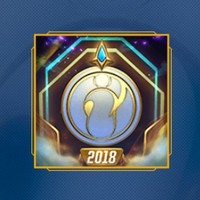 《英雄联盟》2018全球总决赛冠军纪念图标