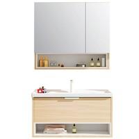 预售:Micoe 四季沐歌 X-GS002-T 实木浴室柜套装 0.8m