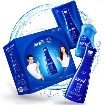 蓝月亮 至尊「浓缩+」机洗专用洗衣液(660g瓶+600g袋+500g机洗神器)