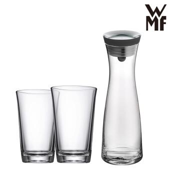 德国WMF福腾宝冷水壶 家用玻璃过滤凉水壶 亮黑色 0617706040