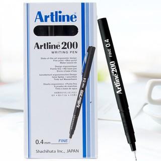Artline 旗牌 针管笔 0.4mm 黑色 12支/盒
