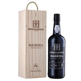HENERIQUES & HENRIQUES 亨瑞克  珍藏富尔里奇 马德拉葡萄酒 5年 750ml