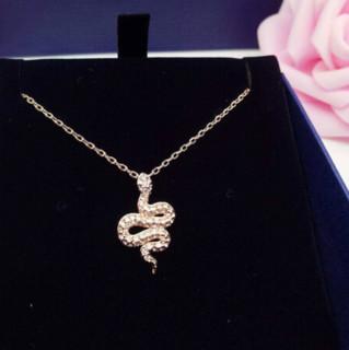 SWAROVSKI 施华洛世奇 5438404 LESLIE个性蛇形女士锁骨链