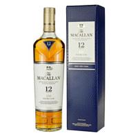 京东PLUS会员:MACALLAN 麦卡伦 12年 蓝钻 单一麦芽苏格兰威士忌 700ml+巴克莱 特别珍藏 苏格兰威士忌 700ml