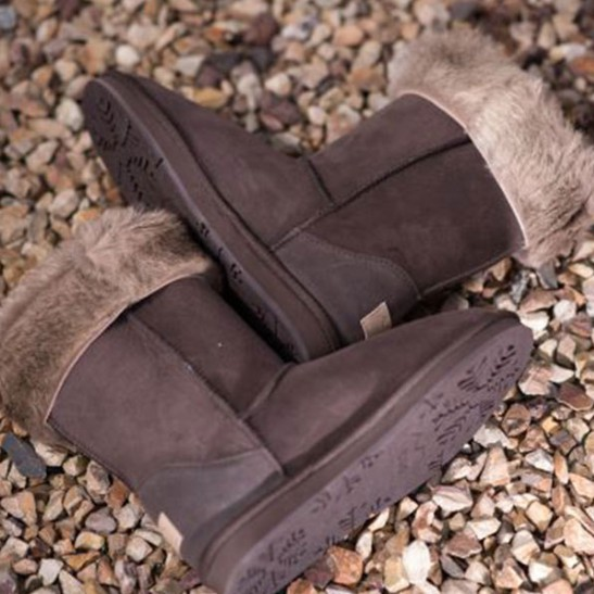 UGG 1910 袋鼠皮 中款雪地靴/中筒靴