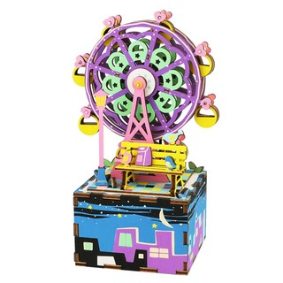 Robotime 若态 木制八音盒 AM402 幸福摩天轮