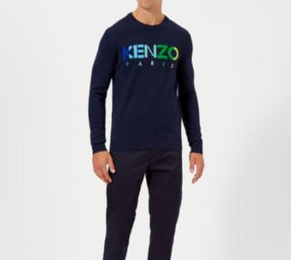 KENZO Paris Logo 男款卫衣