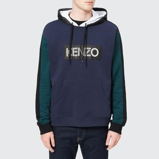 KENZO 男士字母LOGO连帽卫衣