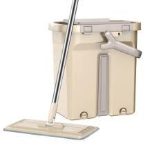KLM 快乐猫 刮刮桶 免手洗平板拖把