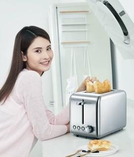 Deerma 德尔玛 DEM-SL281 烤面包机 多士炉